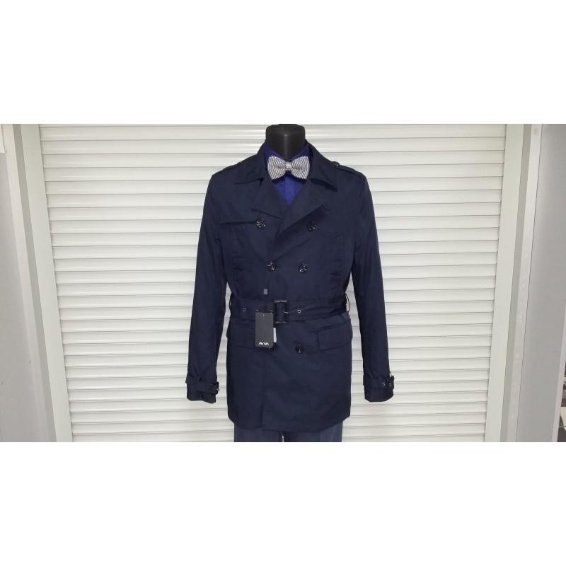 Куртка-плащ осень-зима AVVA A52 6031 11 LACIVERT DARK BLUE  - фото 1